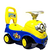 MousePotato Ride-on Car with Horn & Storage Box