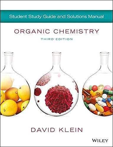 organic chemistry 3rd edition 3 david r klein amazon com rh amazon com Chemistry Kit Chemistry Study Guide