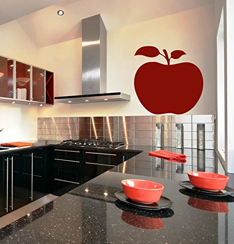 Life Still Vegetable - Nature Fruits Kitchen Still Life Apple Stump Vegetables Kids Room Children Stylish Wall Art Sticker Decal G8755