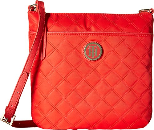 Tommy Hilfiger Womens Quilted Crossbody