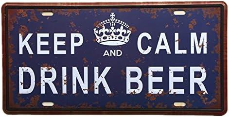 York signe Plaque Métal Rétro AD