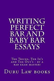 Writing bar essays