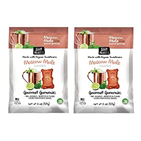 Project 7 Limited Edition Special Flavor Gourmet Gummy 2oz, 2 Packs (Moscow Mule)