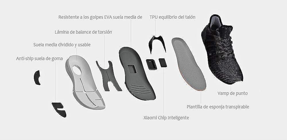 Buy Xiaomi Mijia Smart Shoes 2mm High