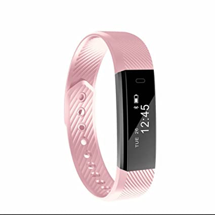 Pulsera Inteligente,Notificación de mensajes como whatsapp/Facebook,Fitness Tracker,Monitor de
