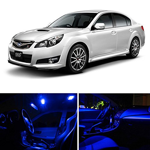 BLUE LEDpartsNow Interior LED Lights Replacement for 2015 Hyundai Sonata Accessories Package Kit 8 Bulbs