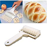 Sungpunet Kitchen Baking Dough Cookie Pie Pizza Pastry Lattice Roller Cutter Craft Tool 02