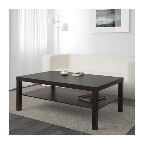 Amazon.com: IKEA Lack – Mesa de café, Black-Brown 46 1/2 X ...