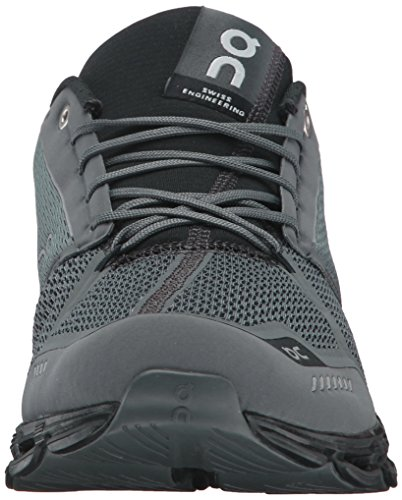 On Running Cloudflyer M 12.5, Botas de Fútbol para Hombre, Negro (Rock / Black), 47.5 EU