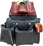 Occidental Leather B5018DB 3 Pouch Pro Tool Bag - Black