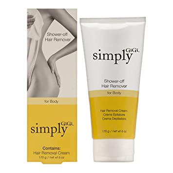 Amazon Com Simply Gigi Shower Off Hair Removal Cream For The