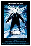 PosterOffice The Thing Movie Poster (1982) - Size 24'' X 36'' - This is a Certified Print with Holographic Sequential Numbering for Authenticity.