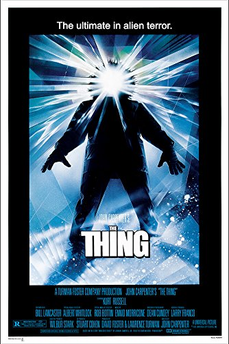 PosterOffice The Thing Movie Poster (1982) - Size 24'' X 36'' - This is a Certified Print with Holographic Sequential Numbering for Authenticity. by PosterOffice