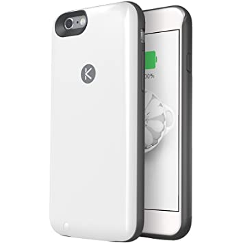online retailer 91b89 bfbc8 KUNER iPhone 6S Battery Case with 64GB storage - iPhone 6/6s ...