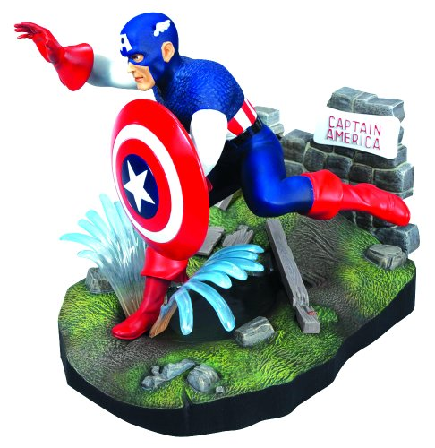 Captains Line Model Ships (Round Captain America Model Kit)
