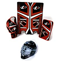 Freeman Industries Street Hockey Goalie Pad, Glove and Mask Set FI-1225-GM