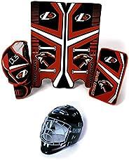 Freeman Industries Street Hockey Goalie Pad, Glove and Mask Set FI-1225-GM