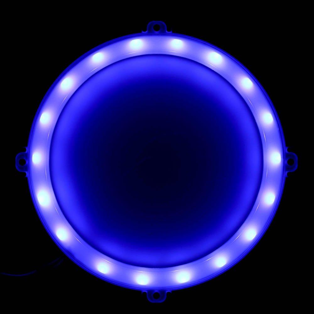 Blinngo Cornhole LED Lights, Ultra Bright Standard Cornhole Night Light for Family Backyard Bean Bag Toss Cornhole Game, Four Color Options, Long-Lasting Over 72 Hours, 2 Set (Blue) by Blinngo