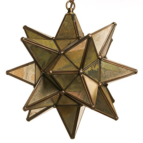 Star Shaped Light Pendant in US - 6