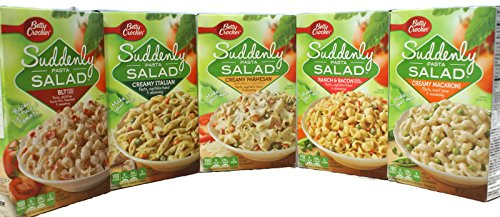Variety Pack  Betty Crocker Suddenly Pasta Salad  BLT Creamy Parmesan Creamy Italian Creamy Macaroni Ranch amp Bacon