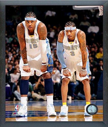- Carmelo Anthony & Allen Iverson Denver Nuggets Action Photo (Size: 12