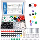 Swpeet 122 Pcs Organic Chemistry Molecular Model Student and Teacher Kit, Molecular Model Set for Inorganic & Organic Chemistry - 59 Atoms & 62 Links & 1 Short Link Remover Tool