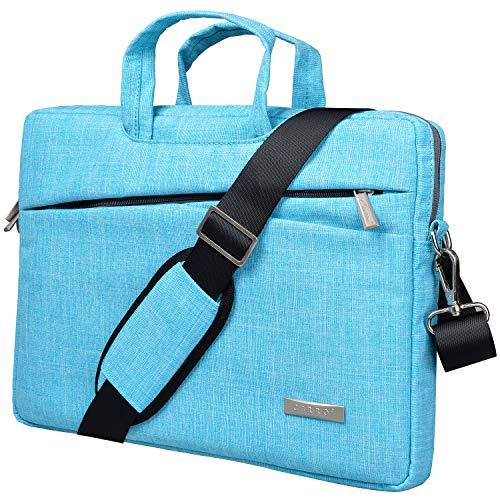 Cerro Laptop Shoulder Bag 14 inch,Laptop Case Sleeve,Business Briefcase Computer Bag Carrying Handle 14-14.6 inch Ultrabook (14 Inch, Blue)