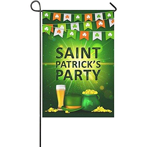 Irish St. Patrick's Day Garden Flag Banner 12 x 18 inch, Pen