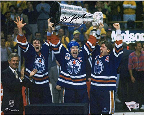 Autographed Oilers Mark Messier - Mark Messier Edmonton Oilers Autographed 8