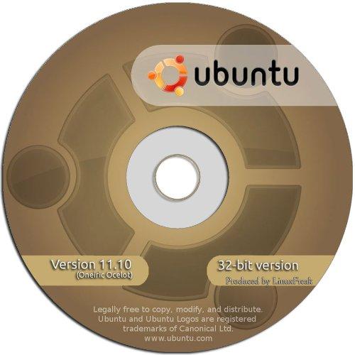 Ubuntu 11.10 Full Version Operating System [32 Bit DVD]