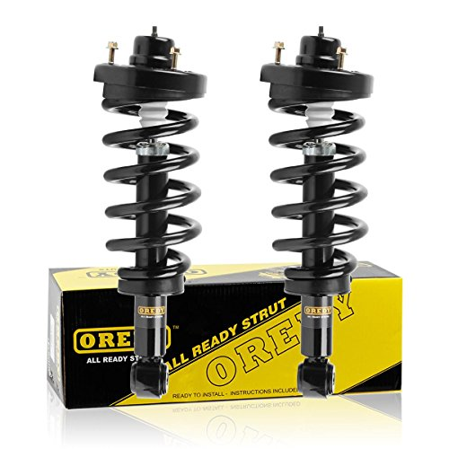 Ford Navigator - OREDY Rear Pair Struts Assembly Complete Struts Assembly Shock Coil Spring Assembly Kit 171139 SR4158 9214-0159 Compatible with Ford Expedition/Lincoln Navigator 2007 2008 2009 2010 2011 2012