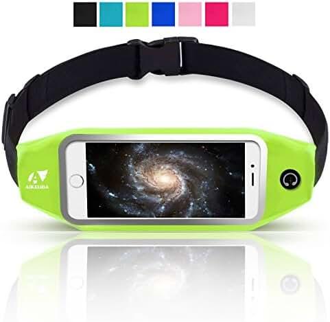 Running Belt / Waist Pack, AIKELIDA Outdoor Sports Fanny Pack Reflective Fitness Belt Runners Bag for iPhone 7/6/6S/6S Plus, Samsung Galaxy S5/S6/S7 Edge