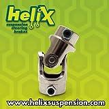 Helix 881 3/4'' DD x 1'' DD Pinch Style U-Joint