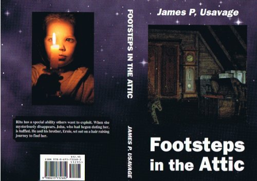 Book cover image for ' Footsteps in the Attic '