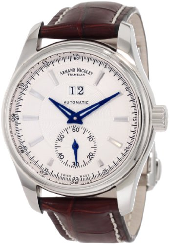 Armand Nicolet Men's 9646A-AG-P961MR2 M02 Classic Automatic Stainless-Steel Watch