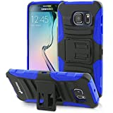 Best Galaxy 6 Edge Cases - Galaxy S6 Edge Holster Case, Fosmon STURDY [Locking Review
