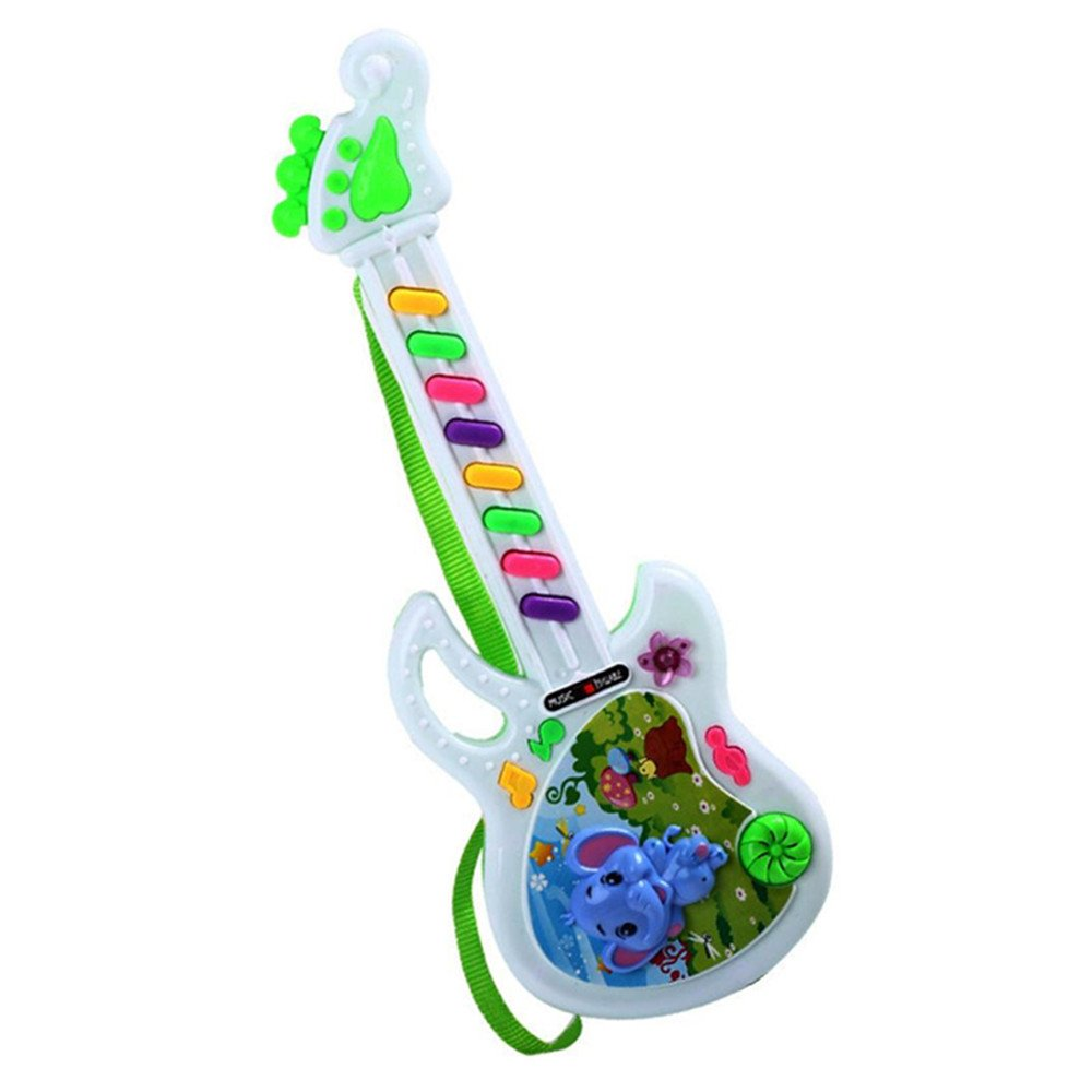 1Pcs Electric Guitar Toy Musical Play For Kid Boy Girl Toddler Learning Electron Toy