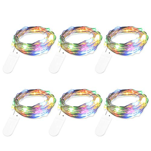 Top fairy lights battery operated multicolor for 2020