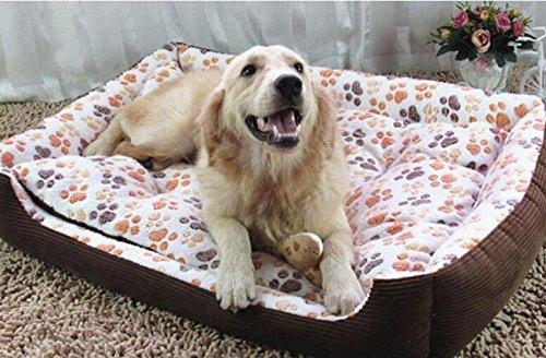 OHlive Accogliente Four Seasons Universal Footprint Pet Pet Mat Pet Supplies Beige