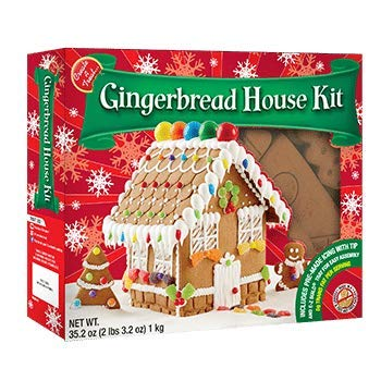 Kit House Gingerbread - Create A Treat Large Gingerbread House Kit, 2.22 lb
