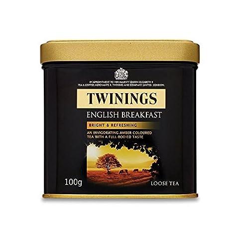 Twinings English Breakfast Loose Tea Caddy - Twinings Colazione Tè