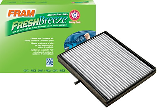 FRAM CF10557 Fresh Breeze Cabin Air Filter with Arm & Hammer