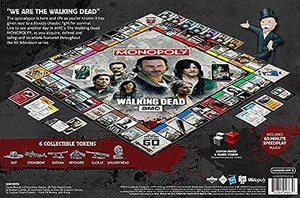 The Walking Dead Monopoly Juego De Mesa: Amazon.es: Juguetes y juegos