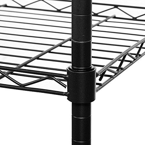 Homdox 3 Tire Heavy Duty Shelves Storage Organizer Wire