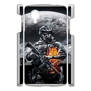 Generic Design Back Case Cover Google Nexus 5 Cell Phone Case White battlefield igry Hujyj Plastic Cases