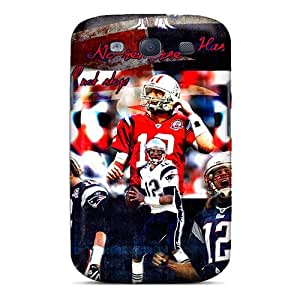 Galaxy S3 Cover Case - Eco-friendly Packaging(new England Patriots)