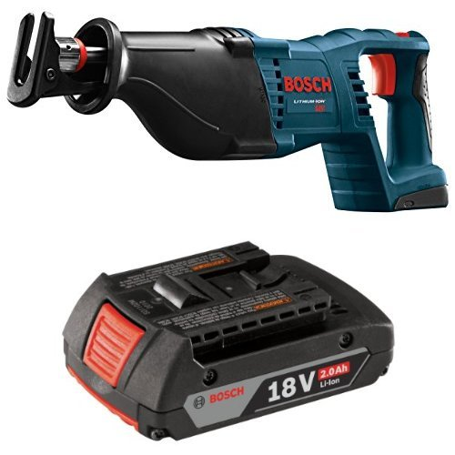 80B 18-Volt Lithium-Ion Reciprocating Saw with 2.0 AH battery (18v Cordless Recip Saw)