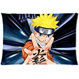 Japanese Anime Naruto Pillowcase Pillow Case Cover 20x30 inch (twin sides) by Generic