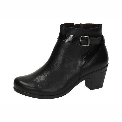 1c512938792 MADE IN SPAIN 861 BOTÍN DE Piel Mujer Botines Negro 39  Amazon.es  Zapatos  y complementos