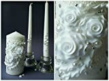 #4: Magik Life Unity candle set  Decorations For Wedding  Outdoor  Bar  Restaurant  Party Home  Birthday  Wedding settings  ceremony ideas party(white)